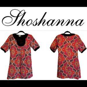 SHOSHANNA Silk Tunic Dress
